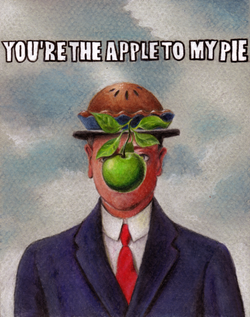 You're the Apple to My Pie Award Car