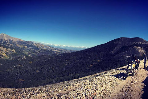High altitude mountain landscape near Salida, CO