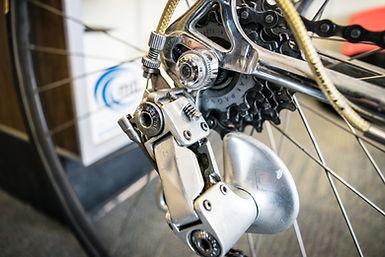 Vintage Road Bike campagnolo derailleur