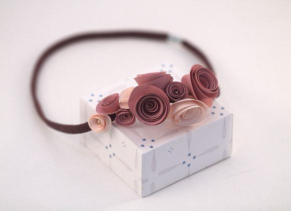 HEADBAND ROSES roses