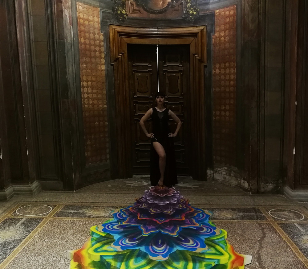 3D Painting  _Mandala Mechanics_  Orient
