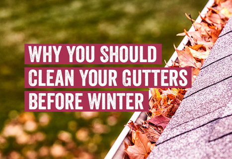 Why You Should Clean Your Gutters Before Winter
