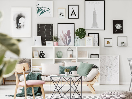 How to Select Art for Your Home: Display Your Personal Style!