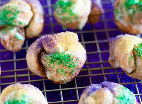 Easy Mini King Cakes Recipe