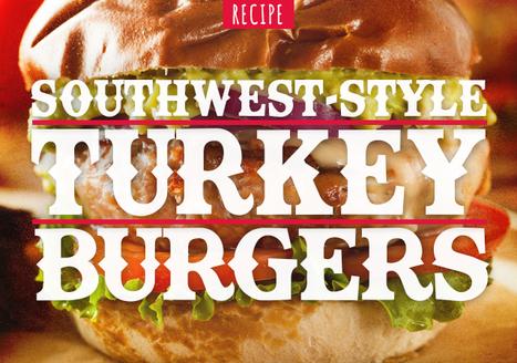 Southwest-Style Turkey Burgers