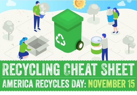 Recycling Cheat Sheet