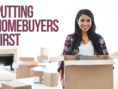 Putting Homebuyers First