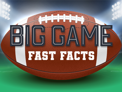 Big Game Fast Facts
