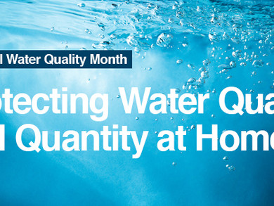 Protecting Water Quality and Quantity at Home