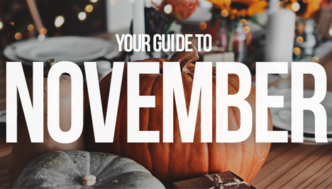 Your Guide to November