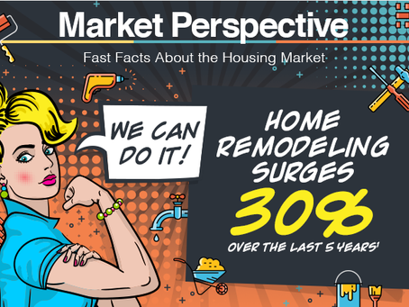 """""""We Can Do It!"""" Home Remodeling Surges [INFOGRAPHIC]"""