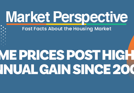 Home Prices Post Highest Annual Gain Since 2005