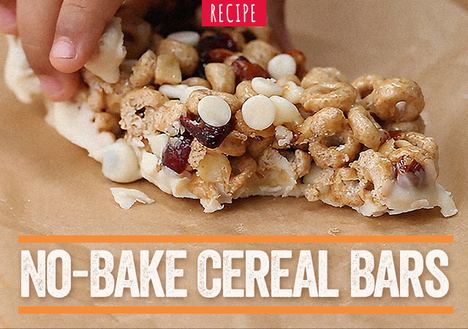 No-Bake Cereal Bars
