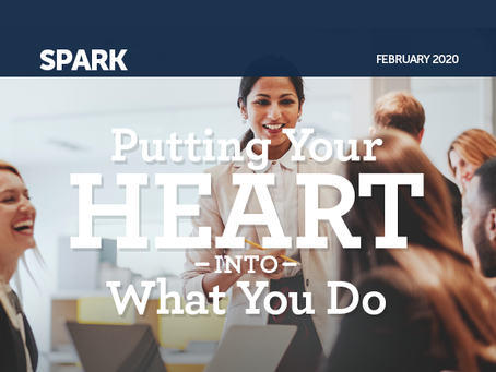 Putting Your Heart Into What You Do