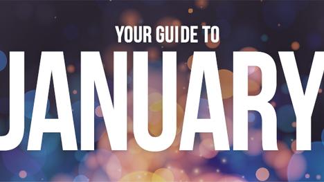 January at a glance