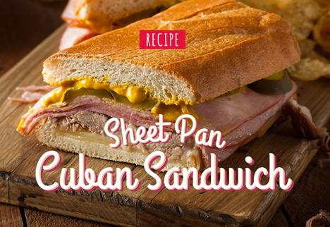 Sheet Pan Cuban Sandwich