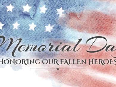 On Memorial Day, we remember.