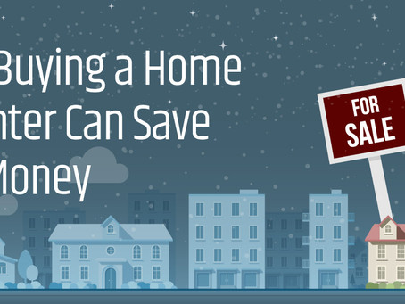 How Buying a Home in Winter Can Save You Money