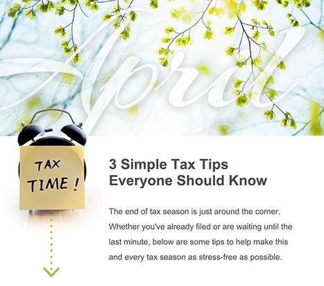 3 Simple Tax Tips Everyone Should Know