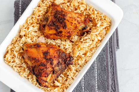 Paprika Chicken & Rice