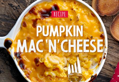 Pumpkin Mac 'n' Cheese