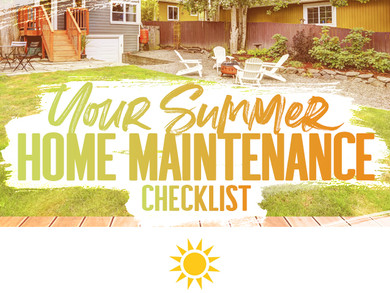 Your Summer Home Maintenance Checklist