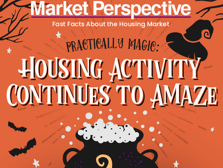 Practically Magic: Housing Activity Continues to Amaze