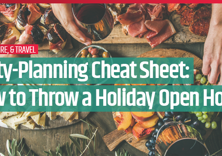 Party-Planning Cheat Sheet: How to Throw a Holiday Open House