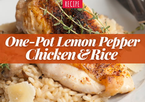 One-Pot Lemon Pepper Chicken and Rice
