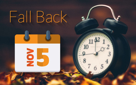Don't forget to fall back this weekend!