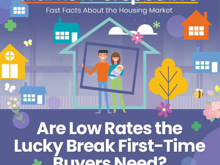 Are low rates the lucky break first-time buyers need? [INFOGRAPHIC]