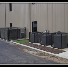 HVAC Security Cages