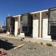 Cell Tower Modular Security Cages