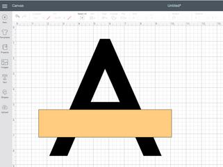 Split Letter Monogram