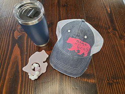HTV on trucker hat