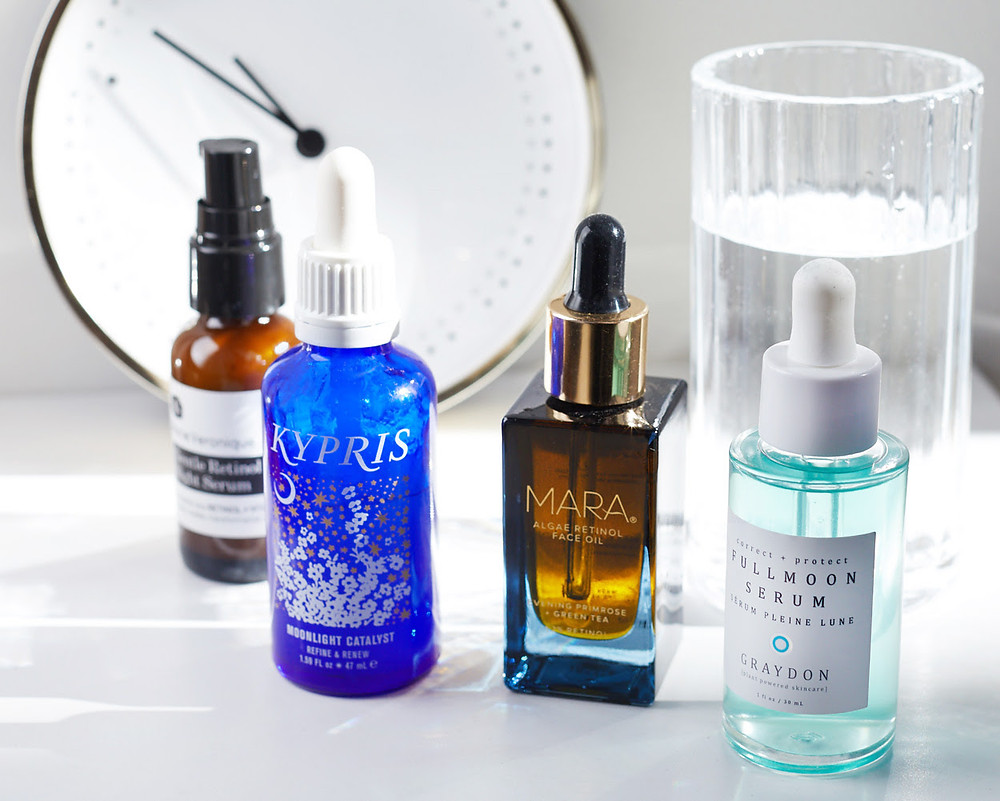 skincare treatments containing Vitamin A
