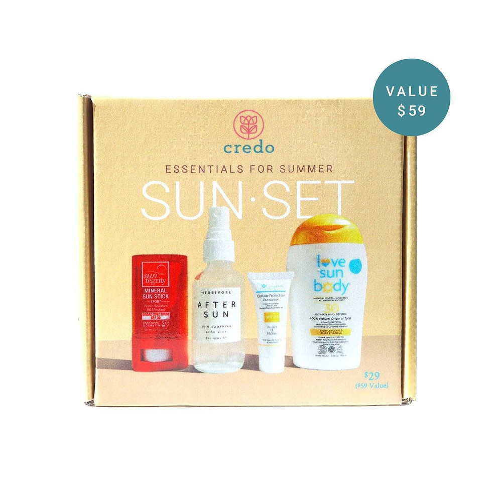 sunscreen skincare kit