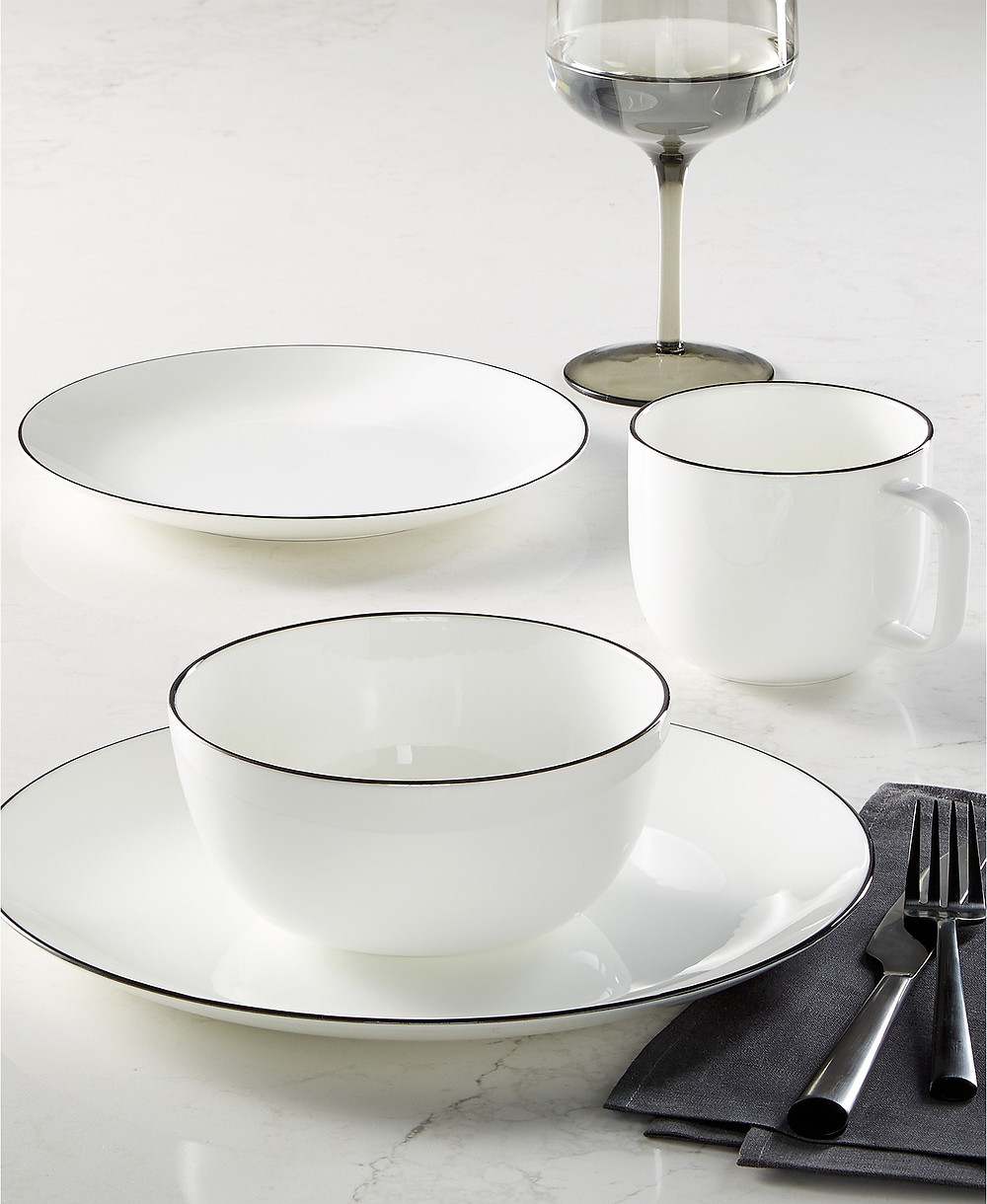elegant dinnerware