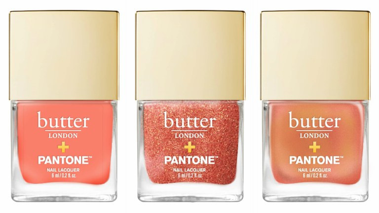 Coral nail polishes for the perfect wedding day manicure
