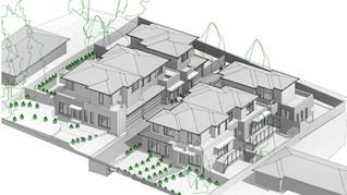 Cameron 6 Townhouse Development Croydon.