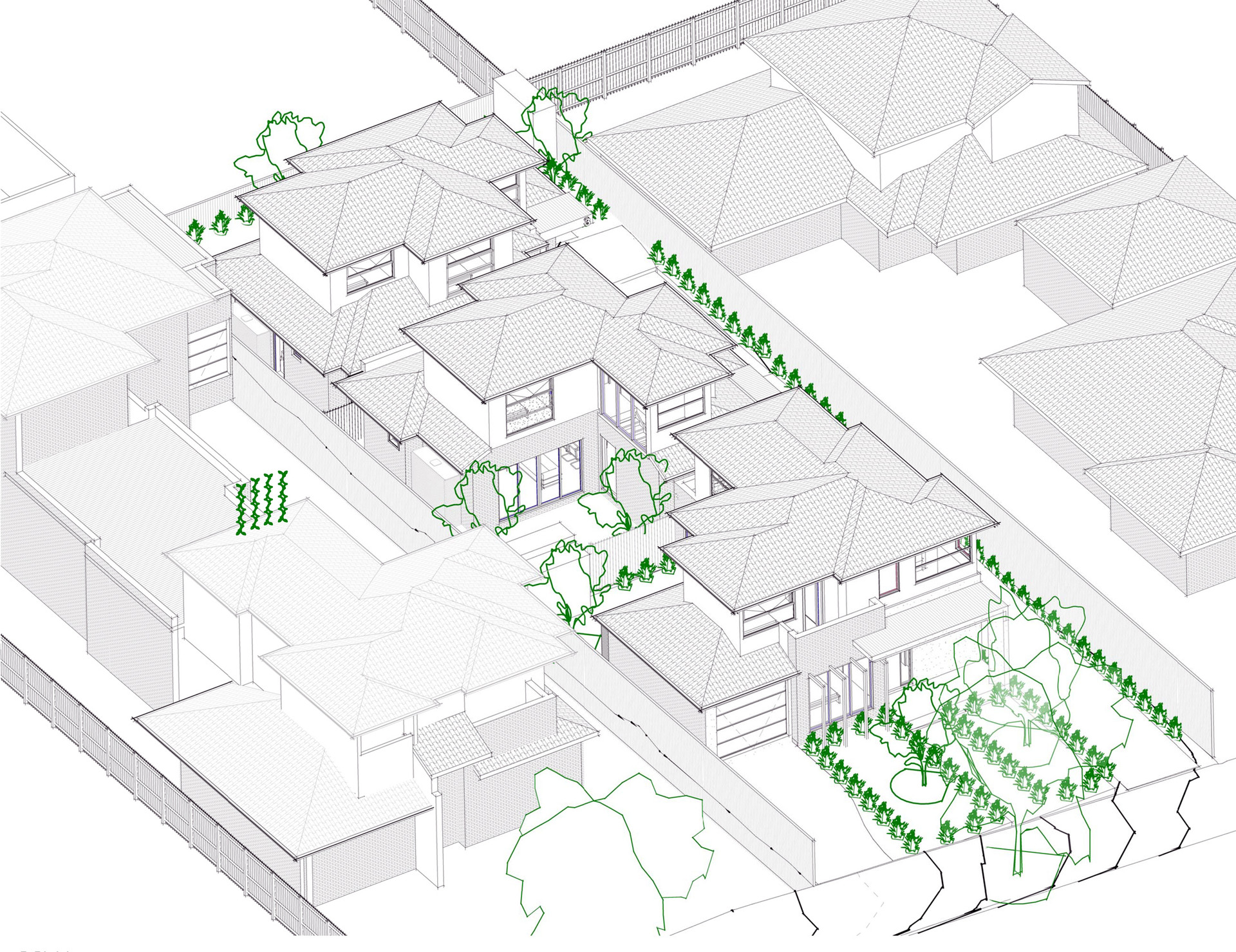 Hirst Townhouse Development