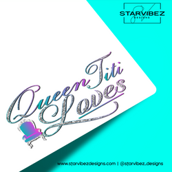 Queen Titi Loves Logo Mock Up2