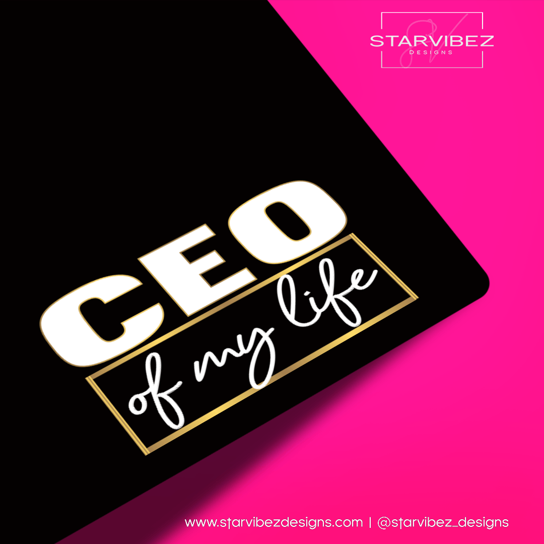 CEO of My Life Logo Mock Up2
