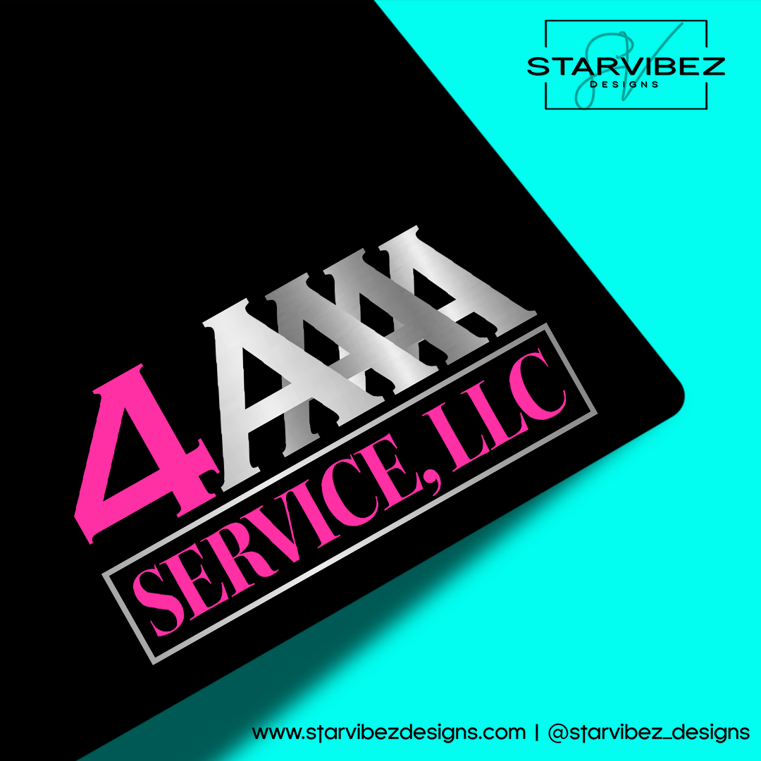 4A Service, LLC Logo Mock Up