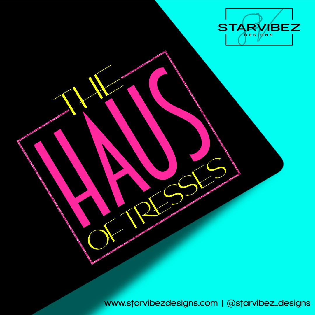 the haus of tresses logo mock up2