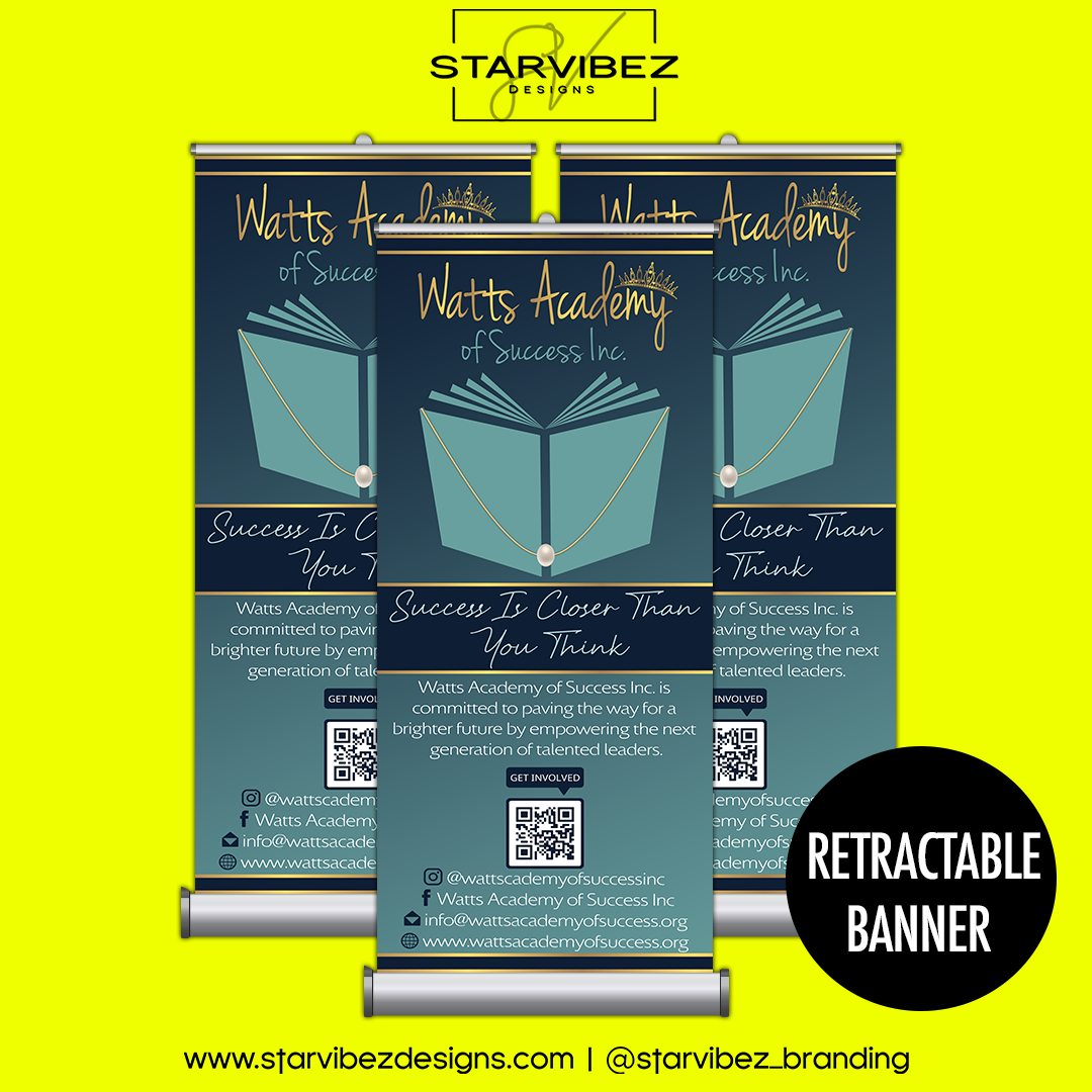 was retractable banner mock up