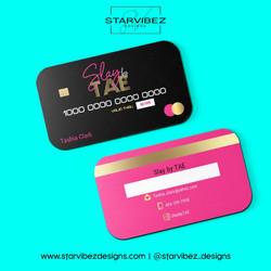 slaybytae business card mock up