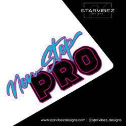 Non-Stop Pro Logo Mock Up