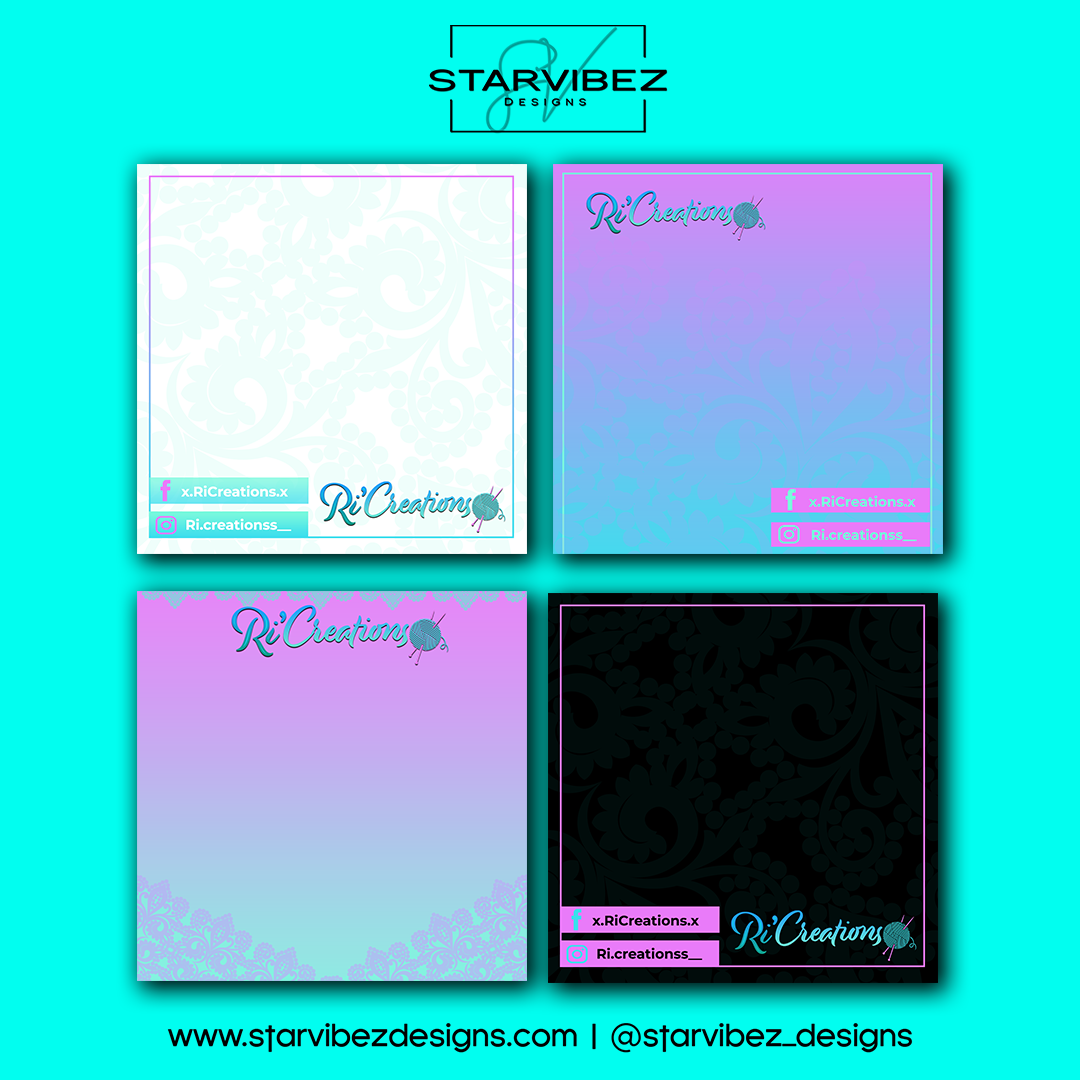 RiCreations Templates Mock Up