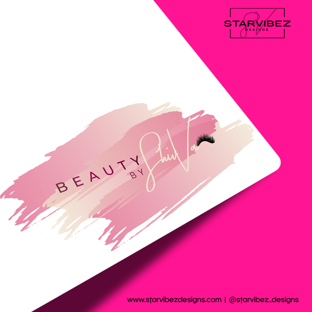 Beauty by ShivVa Logo Mock Up